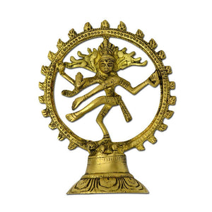 Marshal Clothing, Shoes & Accessories Brass Natraj Statue Sculpture, Lord of Dance