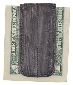 Marshal Clothing, Shoes & Accessories Brown Waterproof Men's Eel Skin Large Magnetic Money Clip by Marshal
