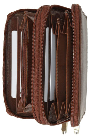 marshal Clothing, Shoes & Accessories Burgundy Accordion Style Small Wallet