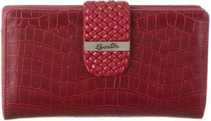 Marshal Clothing, Shoes & Accessories Buxton Everglades Superwallet (Red)