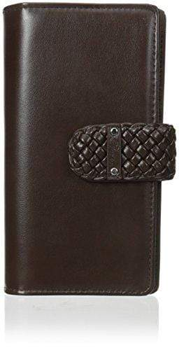 Buxton Hailey Super Wallet, Brown, One Size - wallets for men's at mens wallet