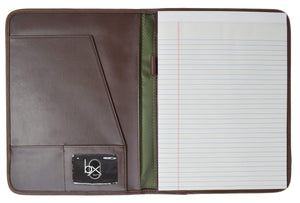 Marshal Clothing, Shoes & Accessories Buxton Office Writing Pad Brown