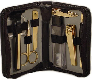 Travel Manicure Sets Gold Plated by Marshal Wallet - wallets for men's at mens wallet