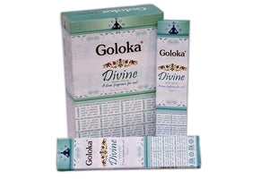 New Goloka Divine Incense Sticks - 15gms (12 Packs) - menswallet