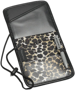 marshal Clothing, Shoes & Accessories Leopard Travelon ID and Boarding Pass Holder One Size