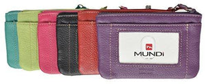 Marshal Clothing, Shoes & Accessories Mundi Ladies Change Purse with ID Window with Detachable Id Sleeve (Teal)