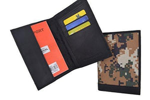 Passport Organizer Travel RFID Blocking Protector Credit Card Case Holder Camo Wallet - wallets for men's at mens wallet