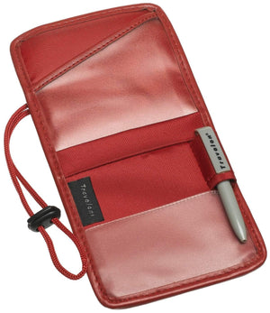 marshal Clothing, Shoes & Accessories Red Travelon ID and Boarding Pass Holder One Size
