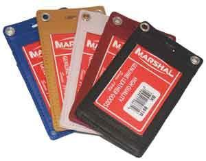 marshal Clothing, Shoes & Accessories WHITE LAN205F-CLIP/ LEATHER ID-HOLDER