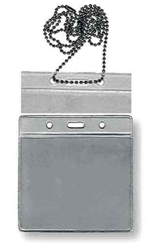 LAN372Chain/ Plastic/ ID Holder/Hori by Marshal Wallet - wallets for men's at mens wallet