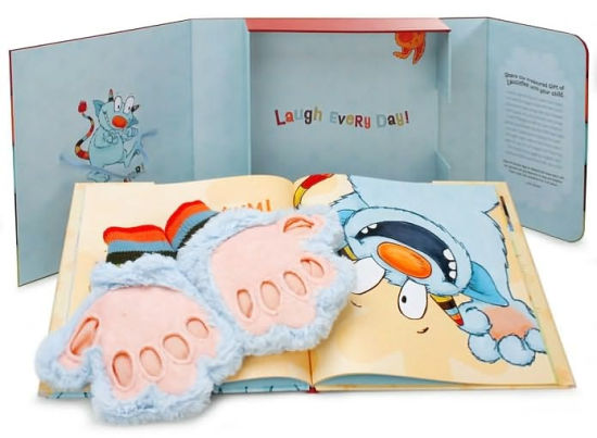 Tickle Monster Laughter Kit [With Tickle Mitts]