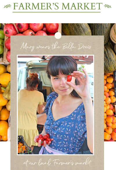 A day at the Farmer's Market in Byron Bay