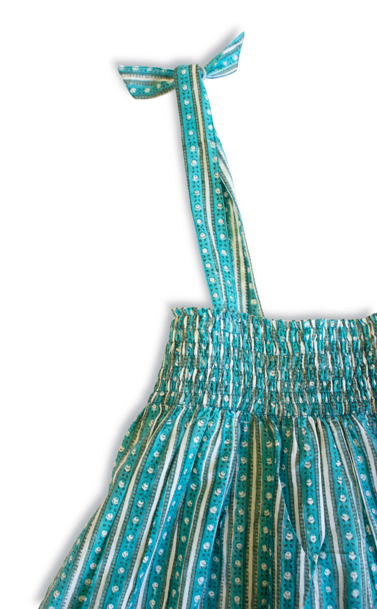 Manya Dress - Sea Green