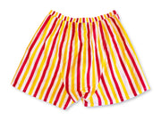 Mens Boxers - Red/Yellow w/strip