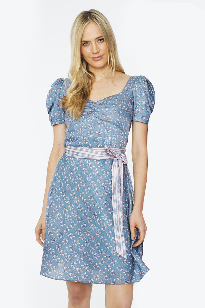 Bella Dress – Powder Blue