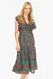 Chand Dress – X-Ray Print Parrot