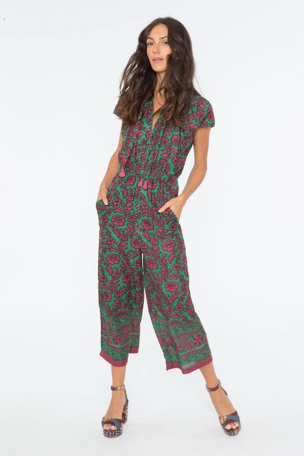 Chand Romper – X-Ray Print - Parrot