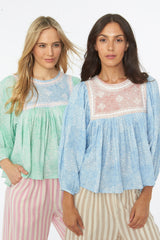 Zeenat Top – Mint Green
