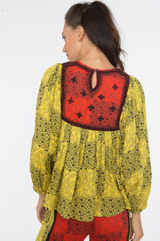 Zeenat Top – Yellow