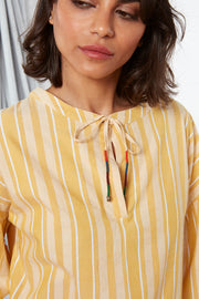 Bibi Top - Yellow y/d stripe