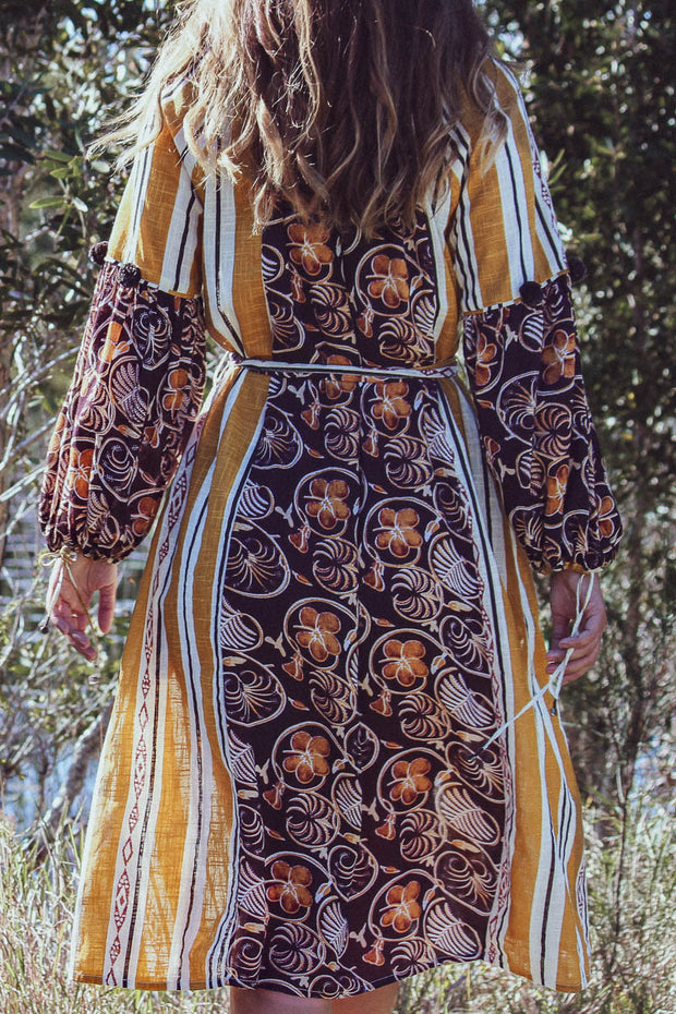 Tici Dress – African Brown