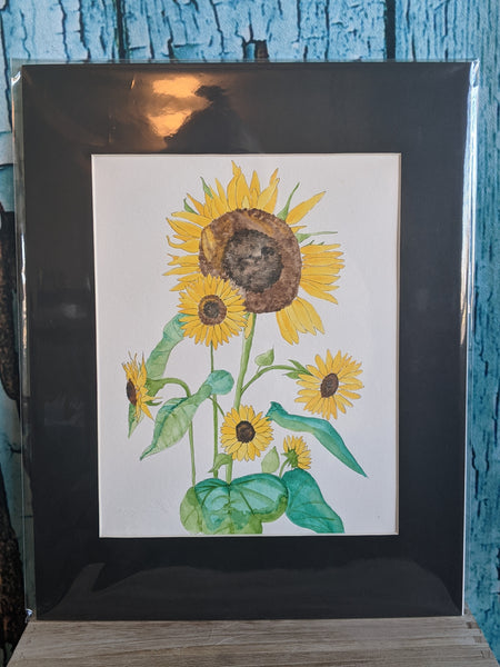 """Sunflowers"" 11x14 Hand-Painted"
