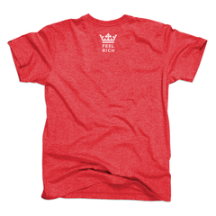 Vintage Red T-shirt with White Logo
