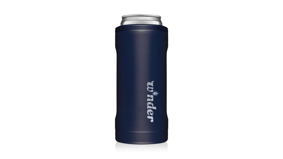 W*nder Engraved Slim Can Cooler Can Cooler W*nder Matte Navy