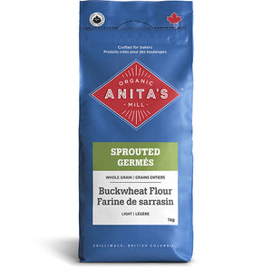 Anita's Organic Mill Sprouted Whole Grain Buckwheat Flour