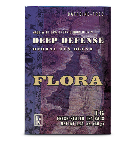 Flora Deep Defense Herbal Tea