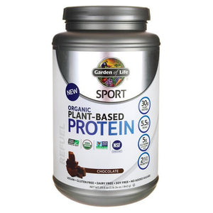Garden of Life Sport Organic Plant-Based Protein Chocolate