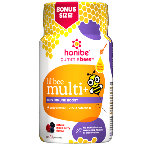 Honibe lil'bees Kids Multivitamin Immune boost