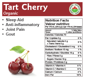 Just Juice Organic Tart Cherry Juice
