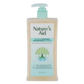 Nature's Aid True Natural Shampoo Clarifying Grapefruit & Mint