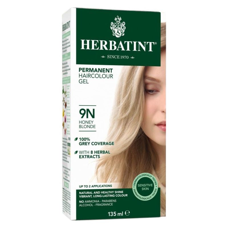 Herbatint Permanent Haircolour Gel 9N