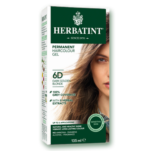 Herbatint Permanent Haircolour Gel 6D