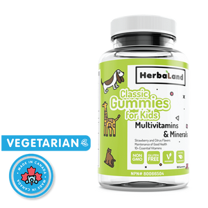 Herbaland Classic Gummy Multivitamins for Kids