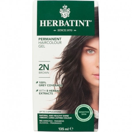 Herbatint Permanent Haircolour Gel 2N