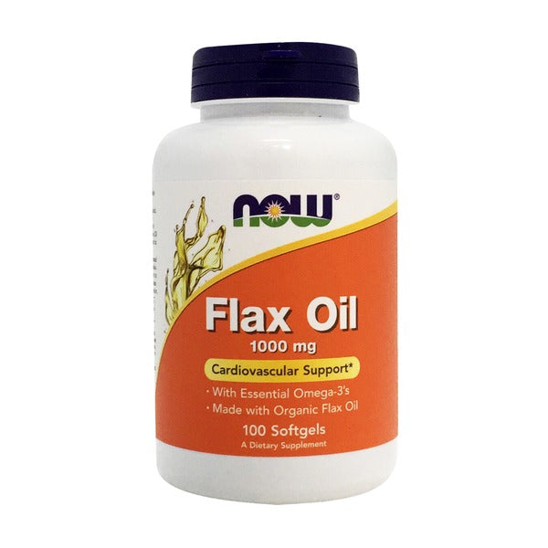Now Flax Oil 1000mg