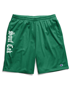 The Souf Cak Vert Champion Gym Shorts With Pockets- Green