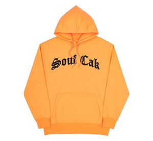 The Souf Cak Hoodie- Orange