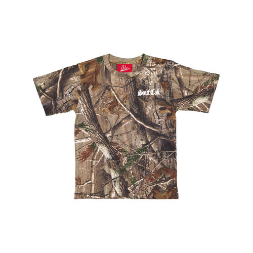 The Souf Cak Forest Camo Shirt Embroidery Logo Chest