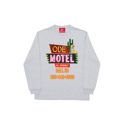 The Ode Motel Long Sleeve -Grey