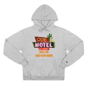 The Ode Motel Hoodie-Grey