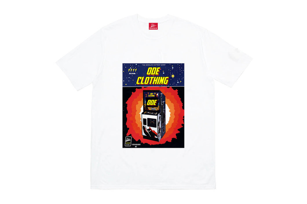 The Ode Arcade  T-Shirt- White