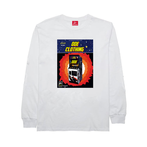 The Ode Arcade Long Sleeve -White