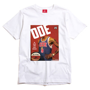 The Ode Brand From South Carolina White T-shirt