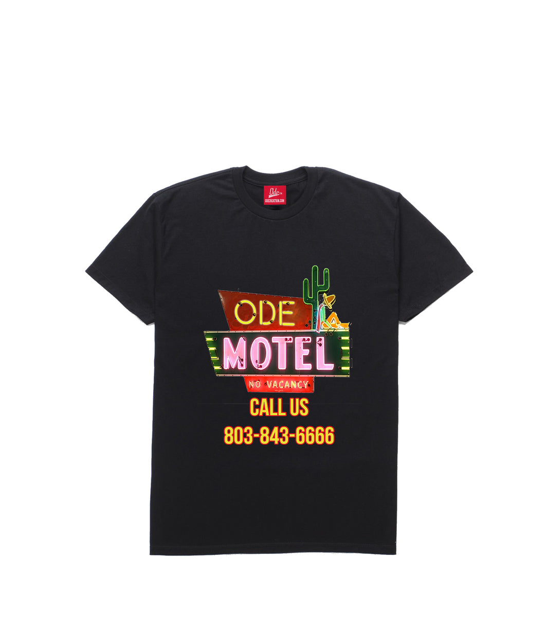 The Ode Motel Black T-shirt