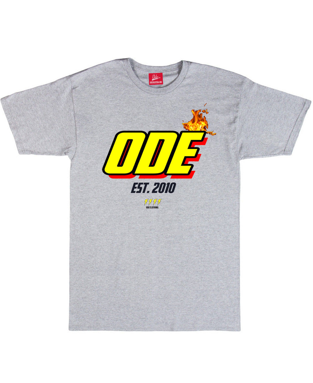 The Ode Flame Shirt- Grey