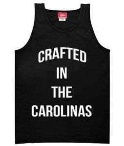 Crafted in the Carolinas Tank- Black